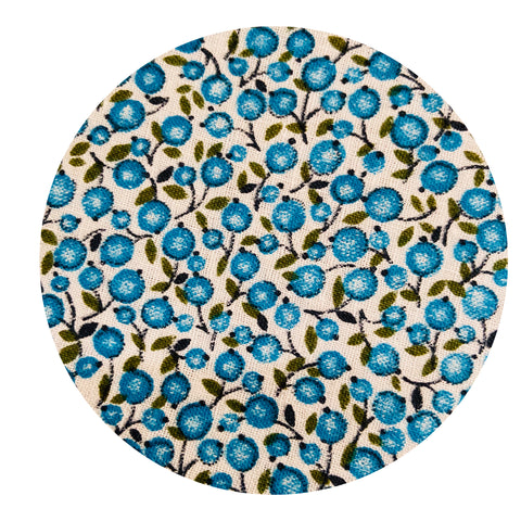 Cotton Crisp Blue Miniature Floral FABRIC Sewing Craft Patchwork