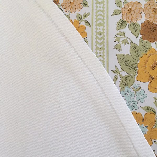 Vintage DAMASK Vintage Linen Table Cloth Fabric LARGE 220cms ~ Vintage