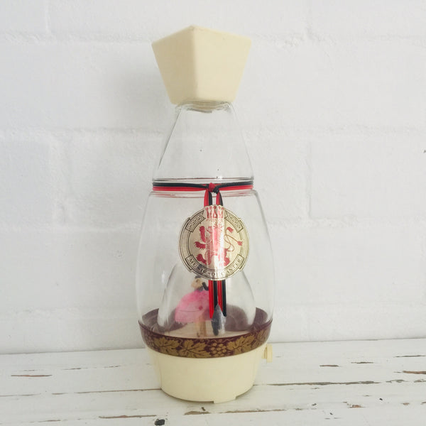 Musical Decanter 50's Decor STUNNING Full Working Kitsch