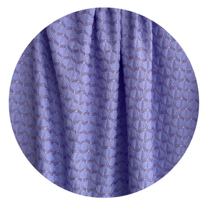 250cms STRETCHY Purple FABRIC Vintage RETRO Sewing