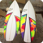 DP Surfboards EPS epoxy blank