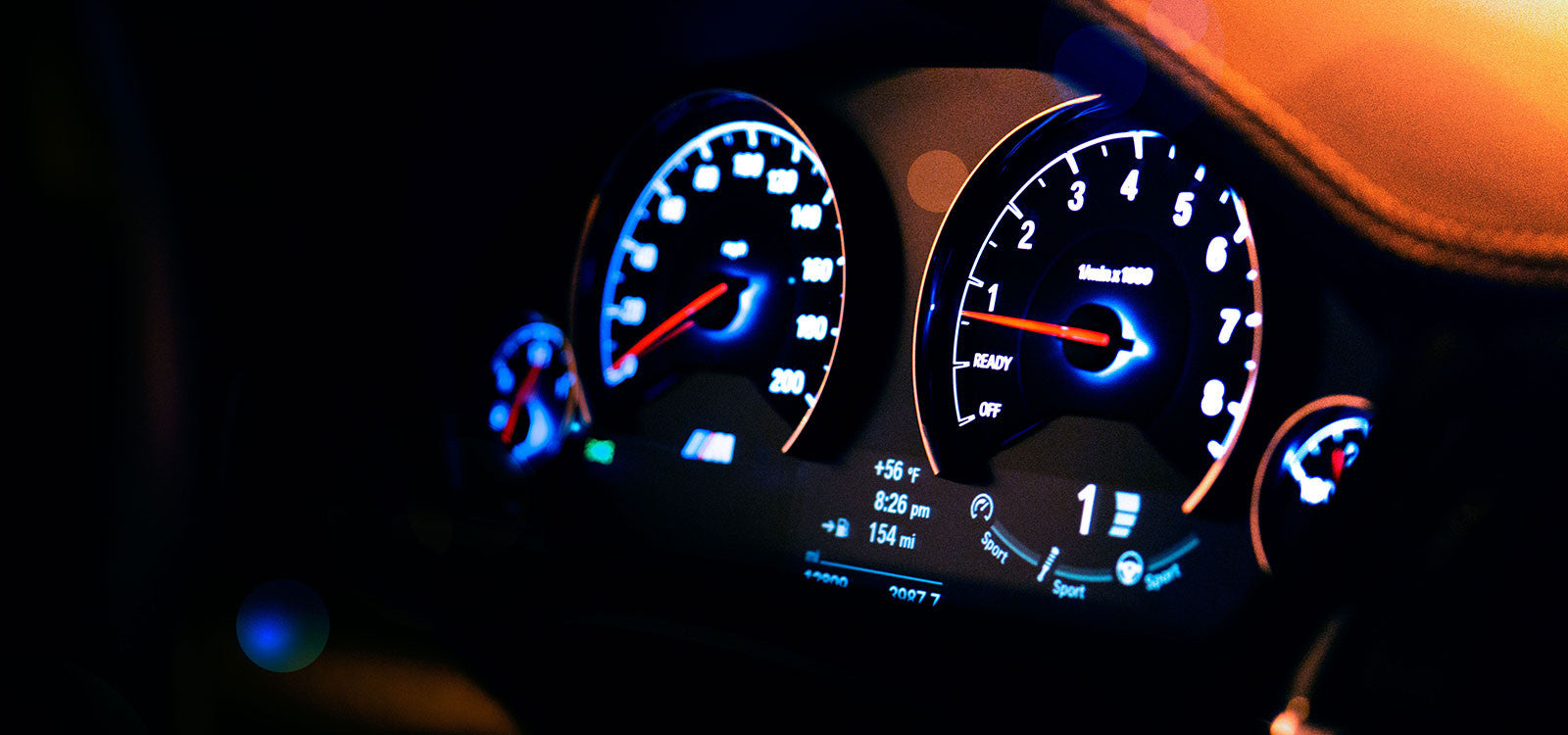 BMW M3 Dash with JB4 Tune