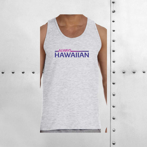 MEN'S ALWAYS HAWAIIAN TANK TOP
