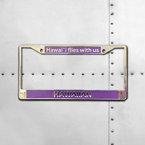 HAWAIIAN AIRLINES LICENSE PLATE FRAME