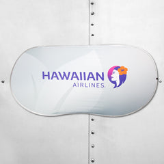 HAWAIIAN AIRLINES CAR SHADE - STANDARD (NEW)