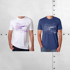 MENS SURFER TEE