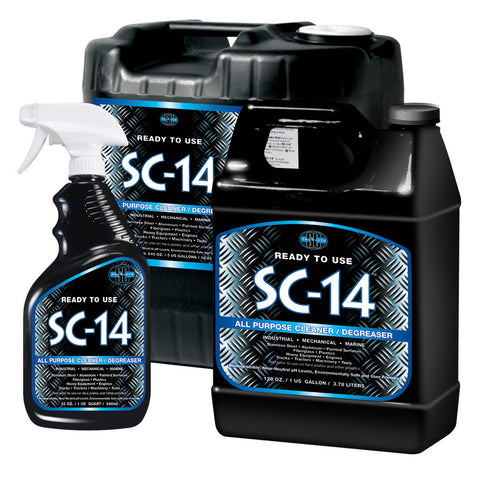 SC-14®  All-Purpose Cleaner / Degreaser for Industrial, Marine & Shop Use