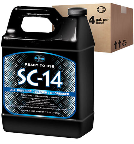 SC-14™ All-Purpose Cleaner / Degreaser for Industrial, Marine & Shop