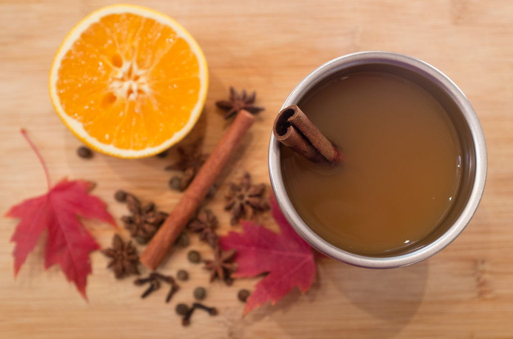 #BringYourOwn Hot Mulled Cider Recipe