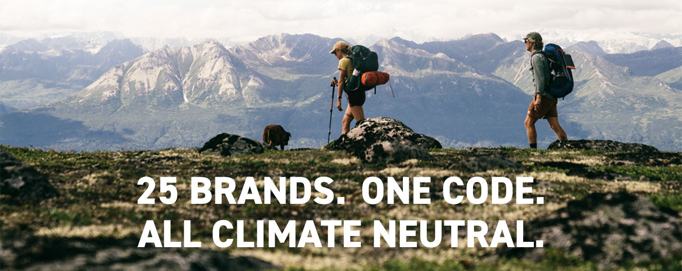 25 Brands. One Code. All Climate Neutral