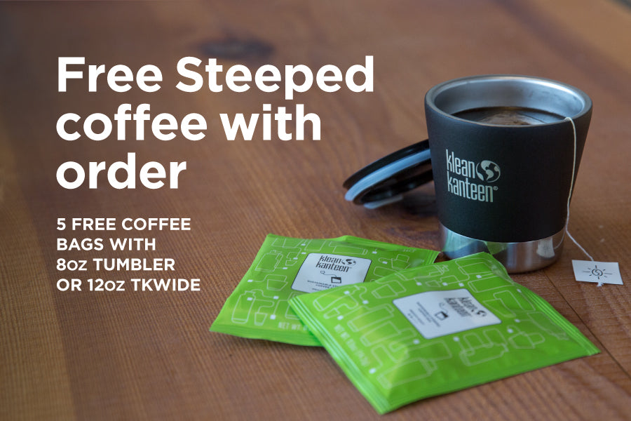 FREE Steeped Coffee with Order