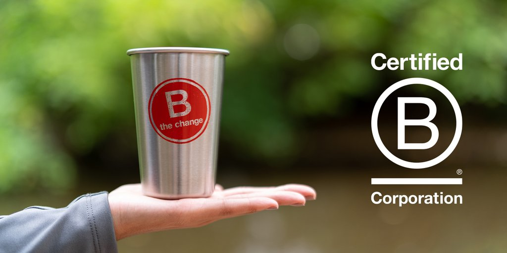 Klean Kanteen is a Certified B Corporation