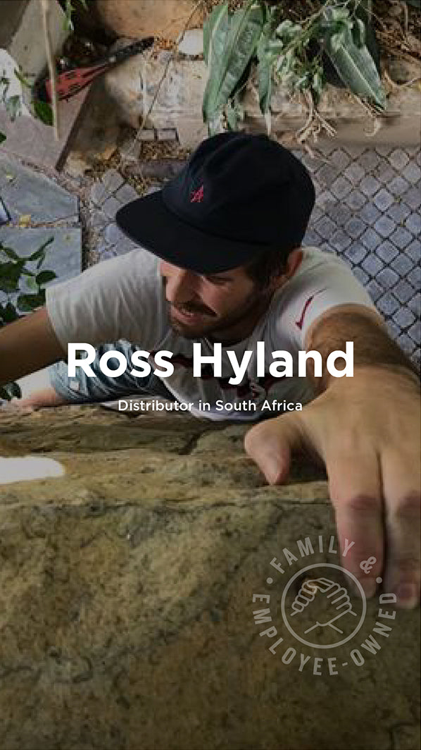 Ross Hyland, South Africa