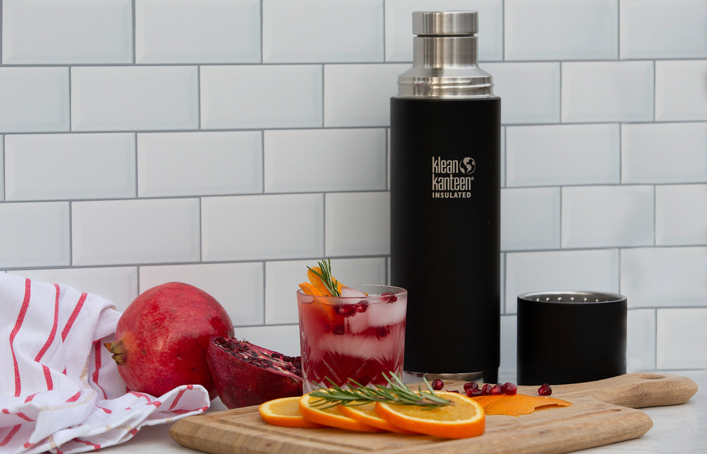 Insulated TKPro bottle for cocktails