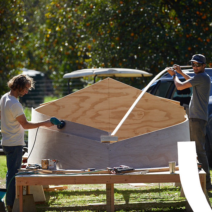 Building a boat hull