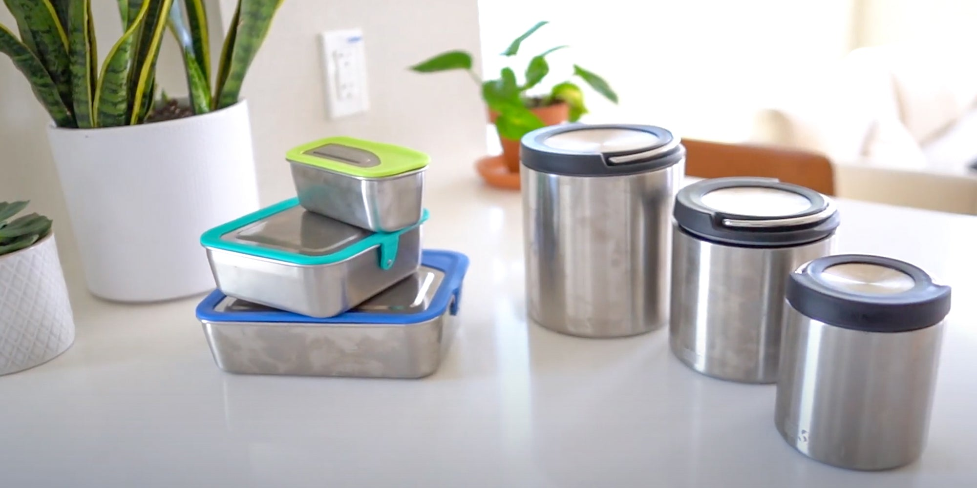 Steel Food Storage Containers
