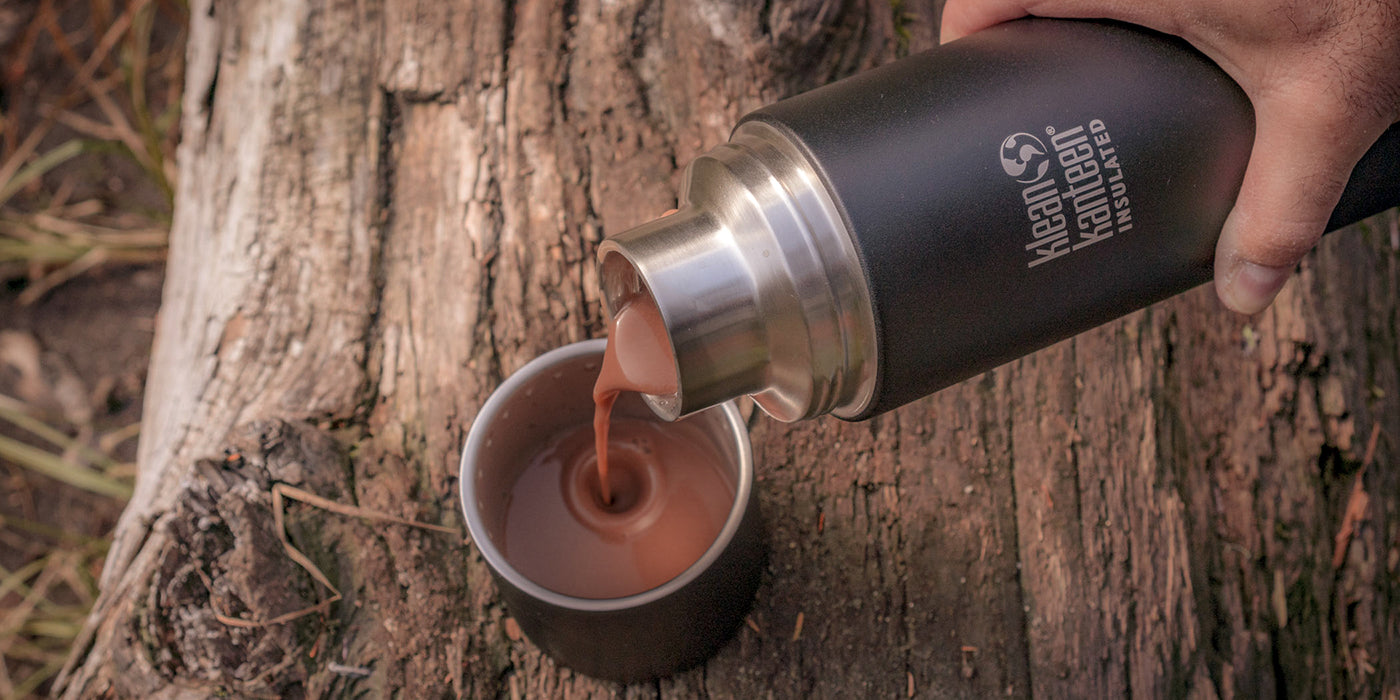 Insulated TKPro bottle for Hot Chocolate
