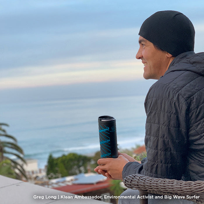 Limited Edition Save The Waves Insulated TKWide 16oz
