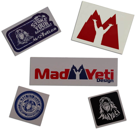 The MAD Yeti Sticker Pack