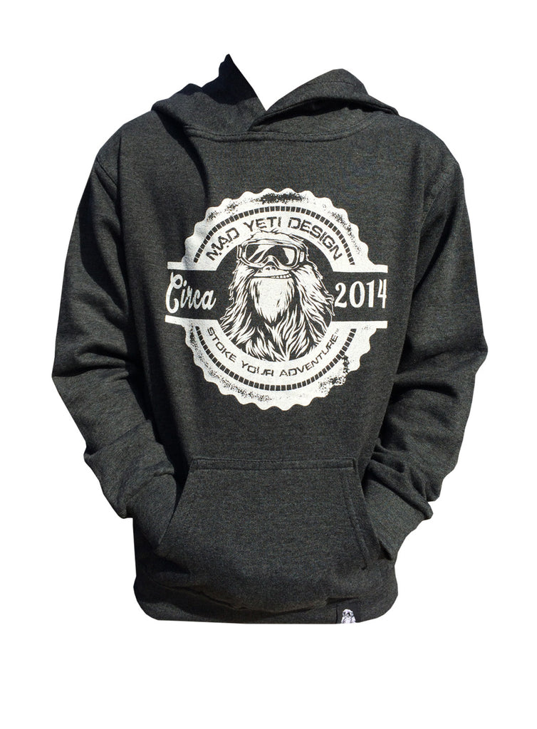 Pop the Top, Youth Snowboard Hoodie- front