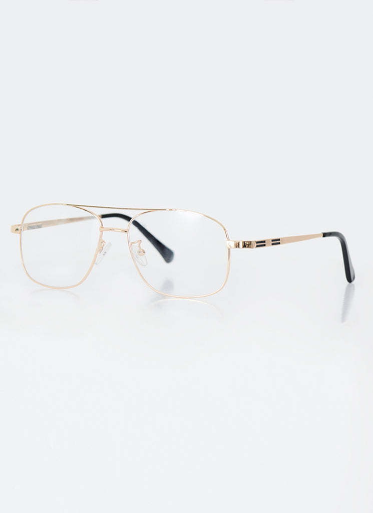 Gold Aviator - Clear