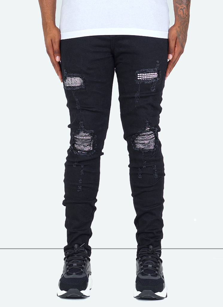 Crystal Jeans - Black