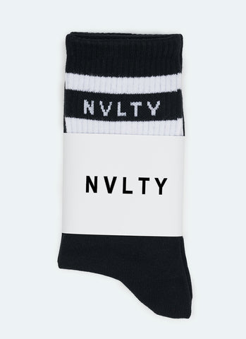 Logo Socks - White
