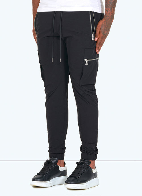 Tactical Track Pants - Black