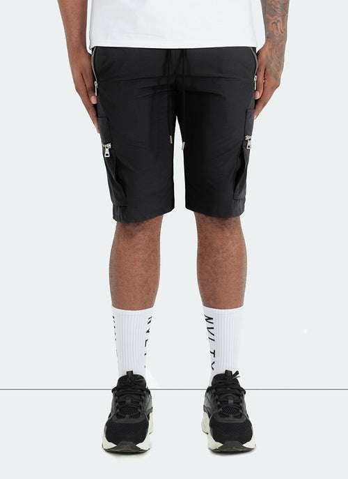 Tactical Track Shorts - Black
