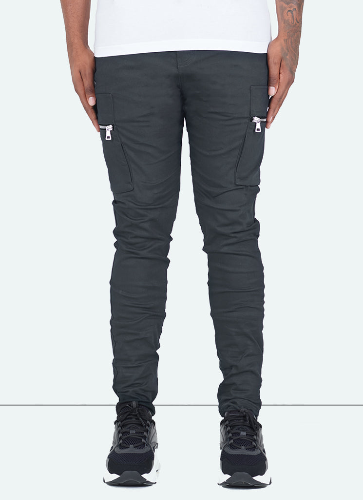 Tactical Cargos - Charcoal Grey