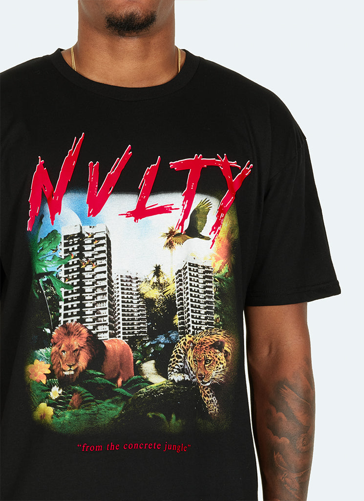 Concrete Jungle T-Shirt - Black