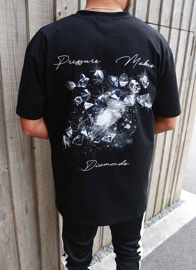 Pressure Makes Diamonds T-Shirt - Black