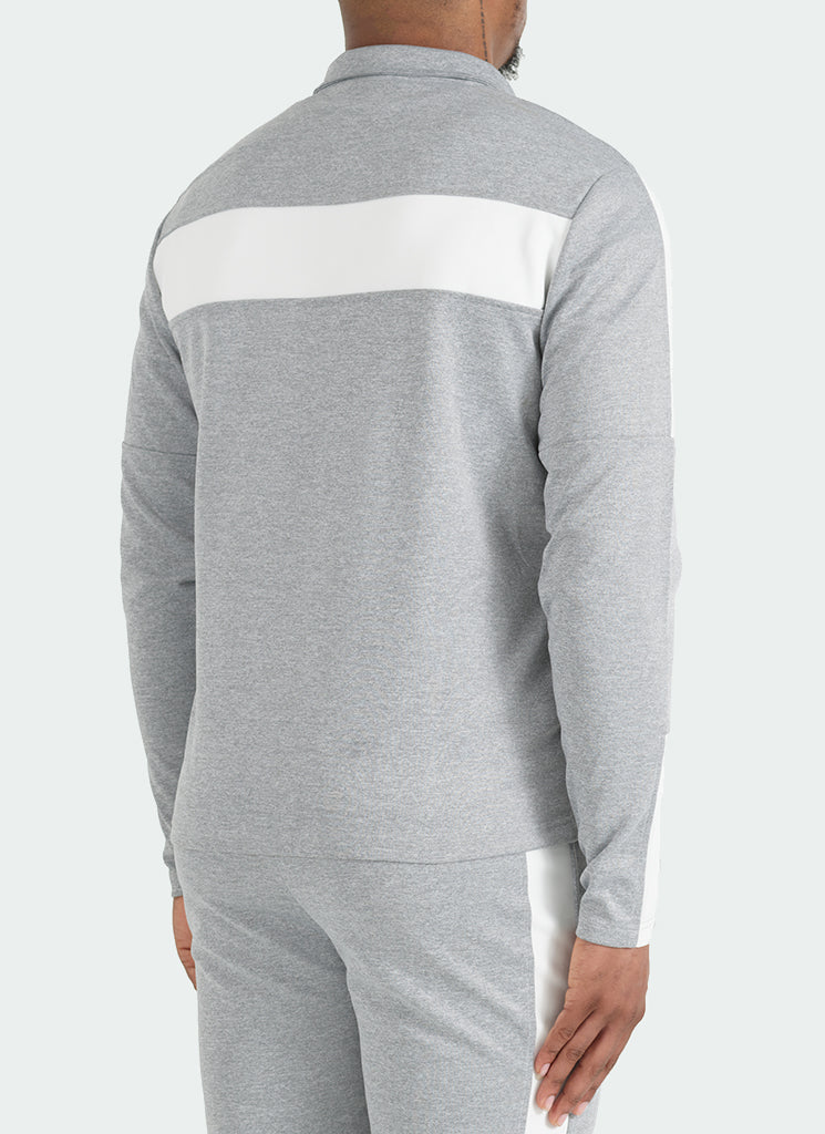 Team Track Top - Grey/White
