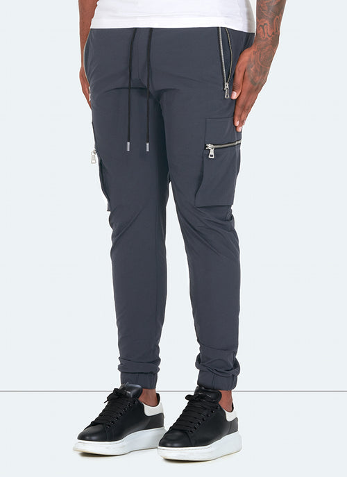 Tactical Track Pants - Charcoal Grey