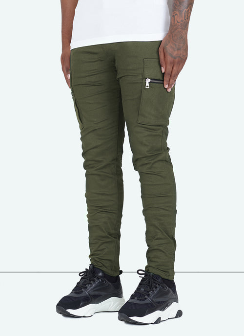 Tactical Cargos - Olive