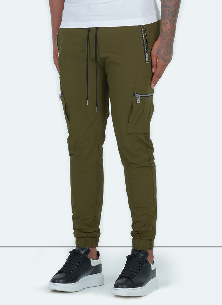 Tactical Track Pants - Olive