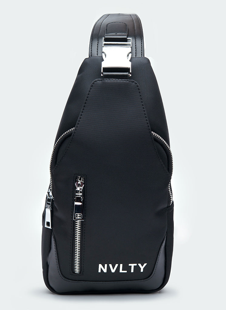 Logo Sling Bag - Black