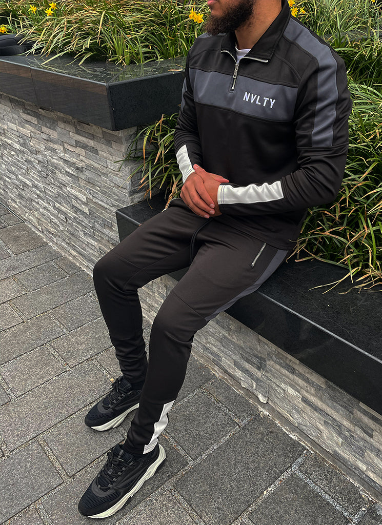 Team Track Pants - Black/Charcoal Grey