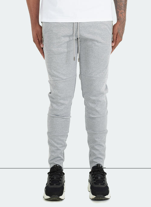 Team Track Pants - Grey/White