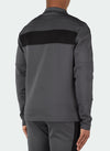 Team Track Top - Charcoal Grey/Black