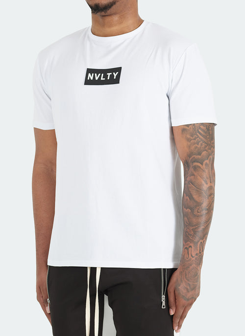 Logo Patch T-Shirt - White