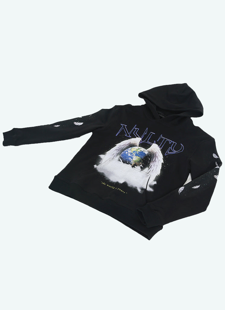 World Is Yours Hoodie - Black
