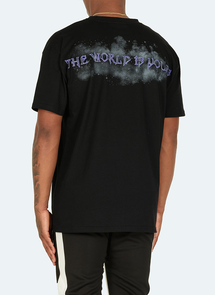 World Is Yours T-Shirt - Black