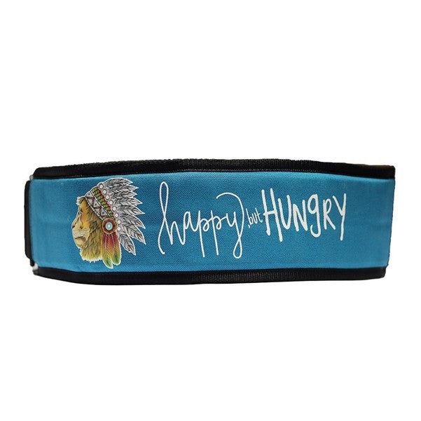 "Bear KompleX Apex ""Happy but Hungry"" Velcro Weight Lifting Belt"