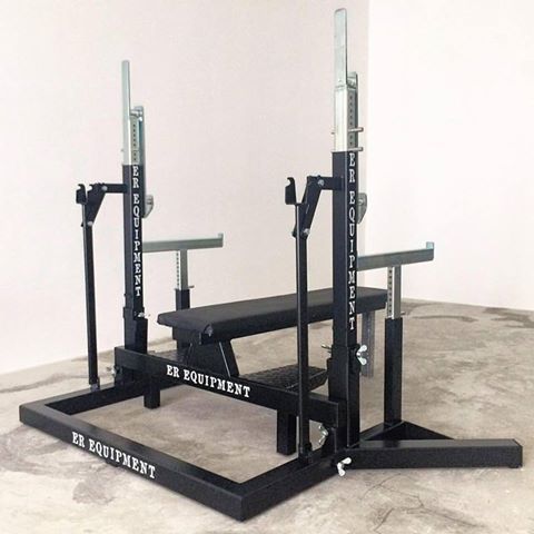 ER Squat and Bench Press Rack