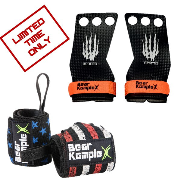 Bear KompleX Grips + Wraps Combo (LIMITED OFFER)