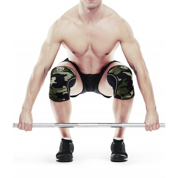 105417 RX Line 7MM Knee Support - Camo