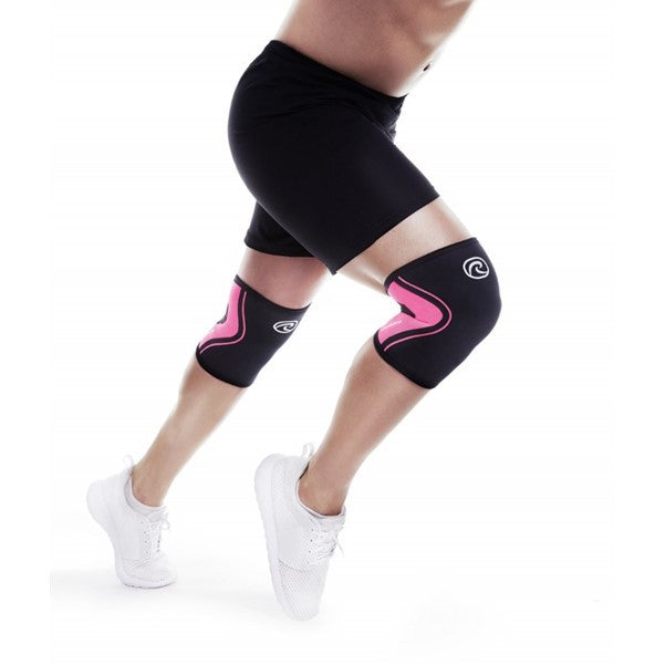 105233 RX Line 3MM Knee Support - Black/Pink