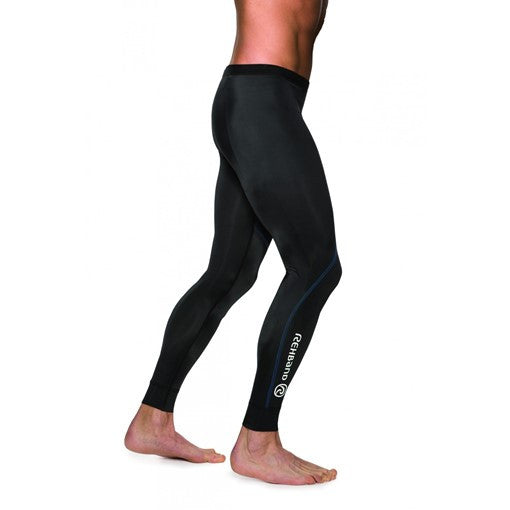 7702 Men's Compression Tights - Black