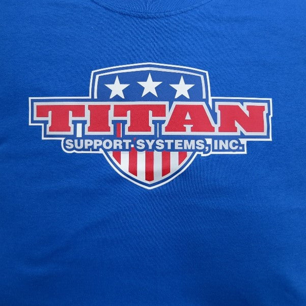 Titan T-Shirt - Blue Patriot Design
